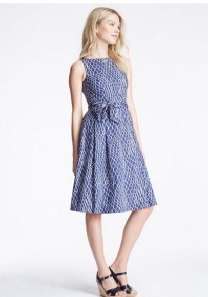 eade4fc128a L.L. Bean Dresses   Skirts - LL BEAN SIGNATURE POPLIN DRESS
